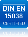 OTM is DIN EN 15038 certified!